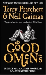 Good Omens mass market paperback cover