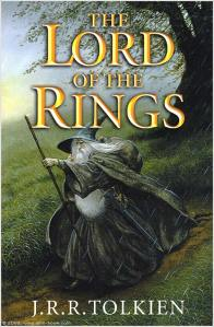 The Lord Of The Rings cover, illustrated by John Howe