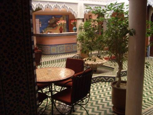 Riad Dar Mimouna Courtyard